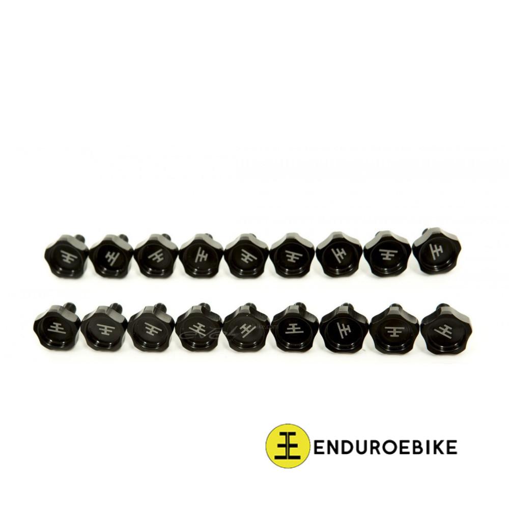 Finger bolts for EEB frame