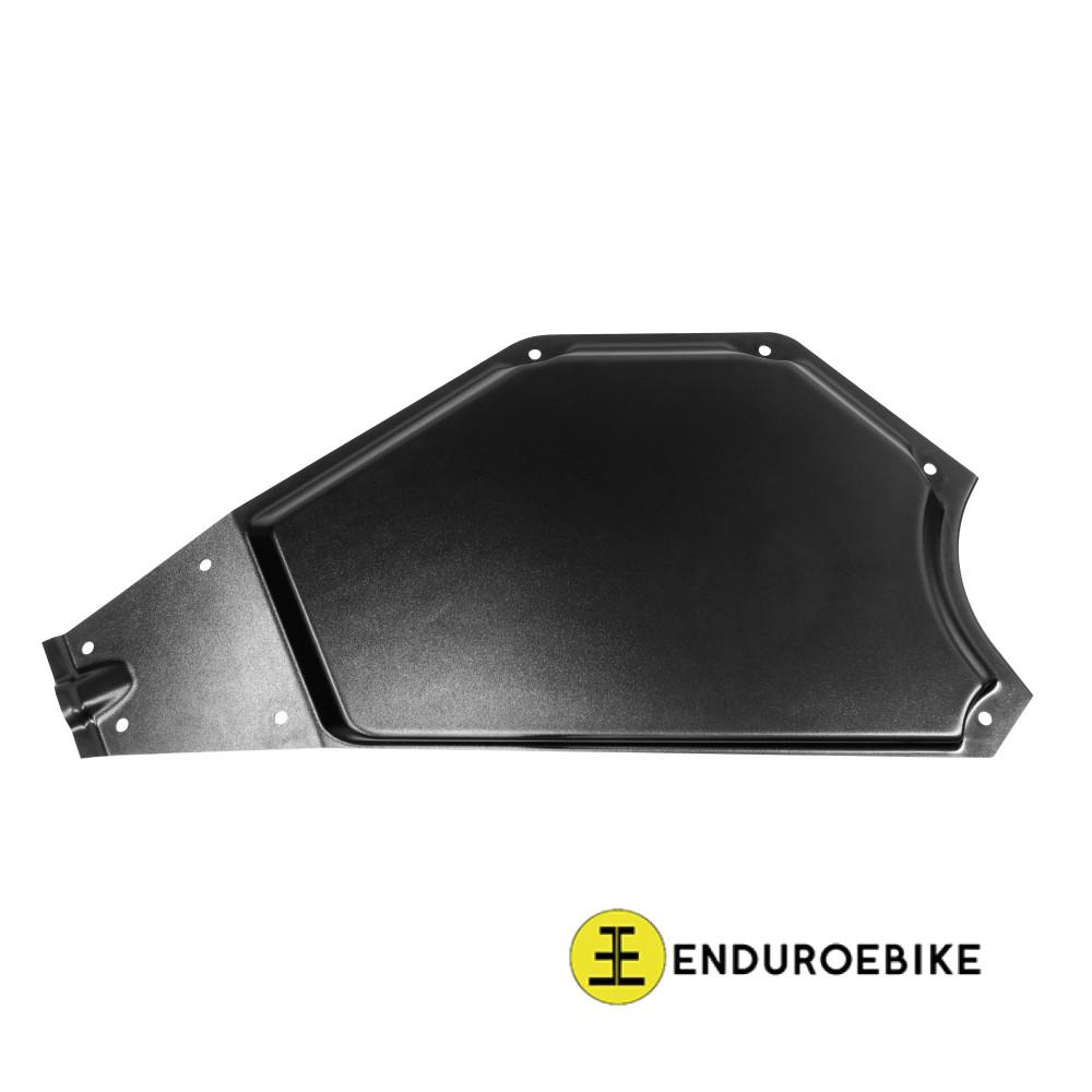Left matt plastic side cover for EEB frame